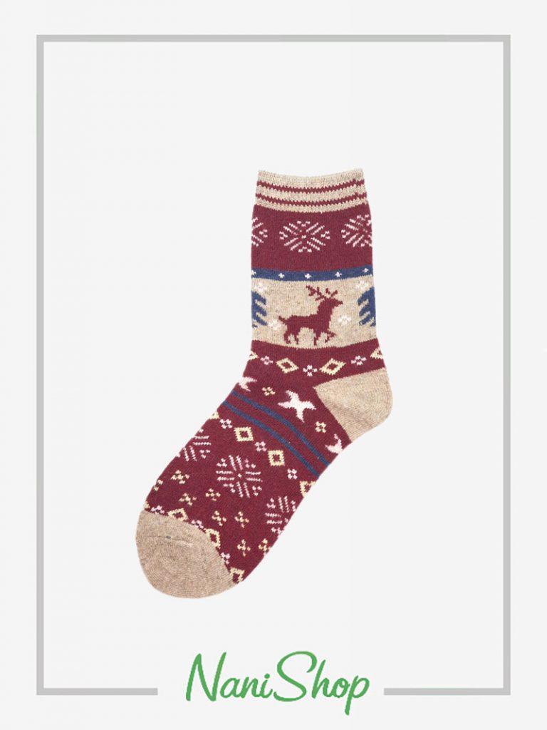 جوراب ساقدار پشمی