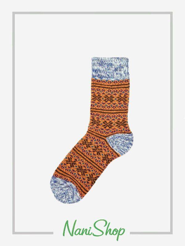 جوراب ساقدار پشمی حوله ای